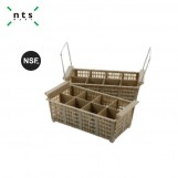 8-Compartment Cutlery Basket(with Handle)