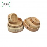 Square Timber Steamer lid