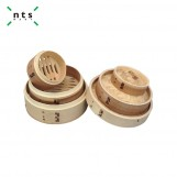 Round Timber Steamer lid