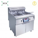 2 Tanks Electric Fryer with 4 baskets(Computer Version)