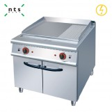 Electric Griddle (2/3flat & 1/3 grooved)with Cabinet