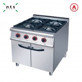 4 Gas Burner with Cabinet