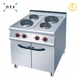 4 Electric Plate Cooker with Cabinet