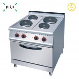 4 Electric Plate Cooker with Electric Oven