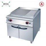 Gas Griddle (2/3flat & 1/3 grooved)with Cabinet