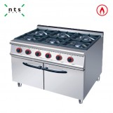 6 Gas Burner with Cabinet