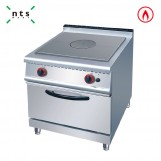 Gas Hot Plate Burner with Gas Oven
