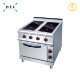 4 Electric Ceramic Hob with Electric Oven