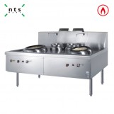 2 Work Chinese Cooking Gas Range with Blower