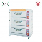 3 Decks Gas Oven without Steam