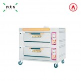 2 Decks Gas Oven with Steam
