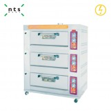 3 Decks Electric Oven without Steam