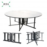 Foldable Round Banquet Table-¢2134D*760H MM