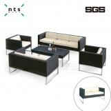 PE Rattan Sofa (Love Seat)