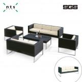 PE Rattan Sofa  (Triple Seats)
