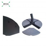 Fan Shaped Umbrella Base 20 KGS, Grey