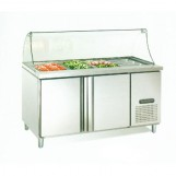 500L Worktable Refrigerator with 4*1/1 Food Container-Food Storage